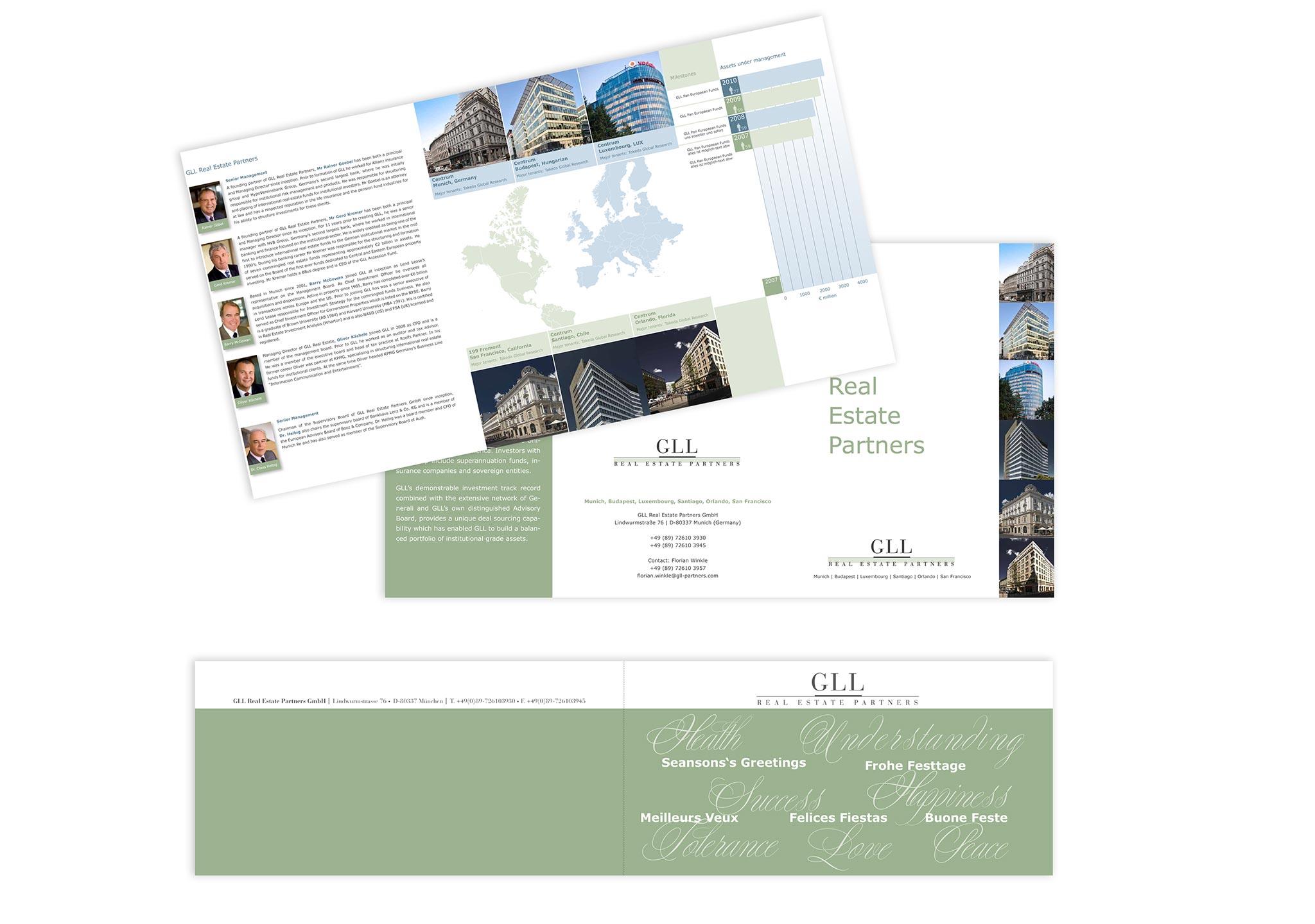 Broschüre und Prospekt für Immobilienentwickler