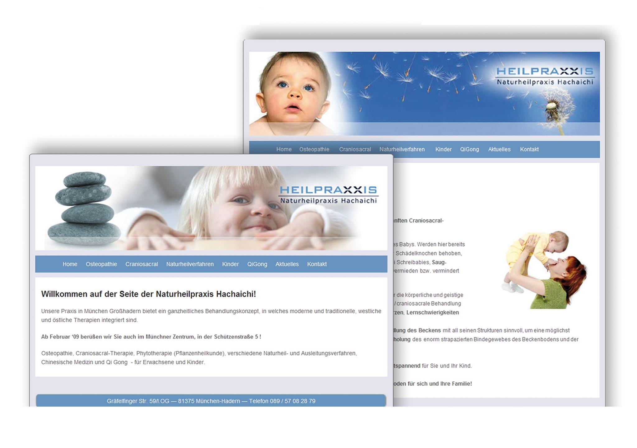 Webdesign Heilpraktiker- immer perfekt online